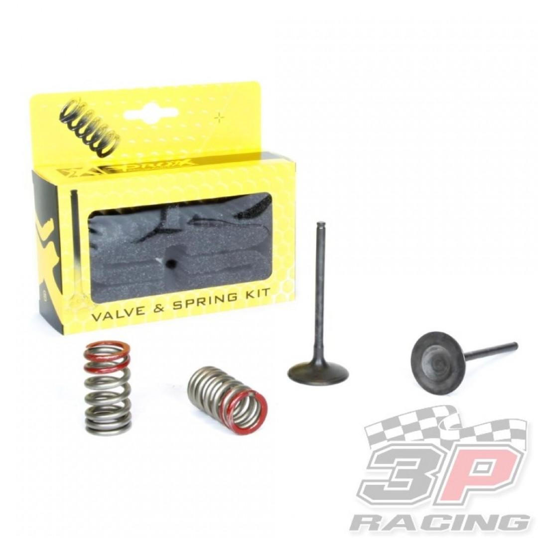 ProX steel intake valves & springs set 28.SIS4335-2 Kawasaki KXF 250 2004-2006, Suzuki RMZ 250 2004-2006