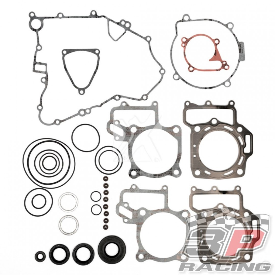 ProX complete gasket set 34.4704 Kawasaki KFX 700, KVF 700 Prairie, Suzuki LT-V 700F Twin Peaks