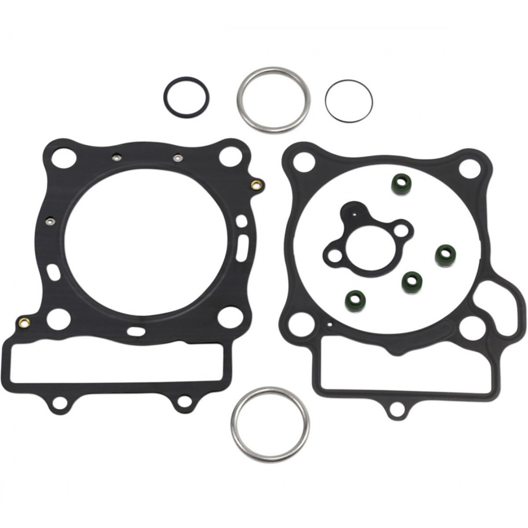 ProX 35.1348 cylinder head & base gaskets kit for Honda CRF250 CRF250R CRF250RX 2018 2019 2020. P/N: 35.1348. Set includes all necessary gaskets, rubber parts and valve seals for a complete top end rebuild.