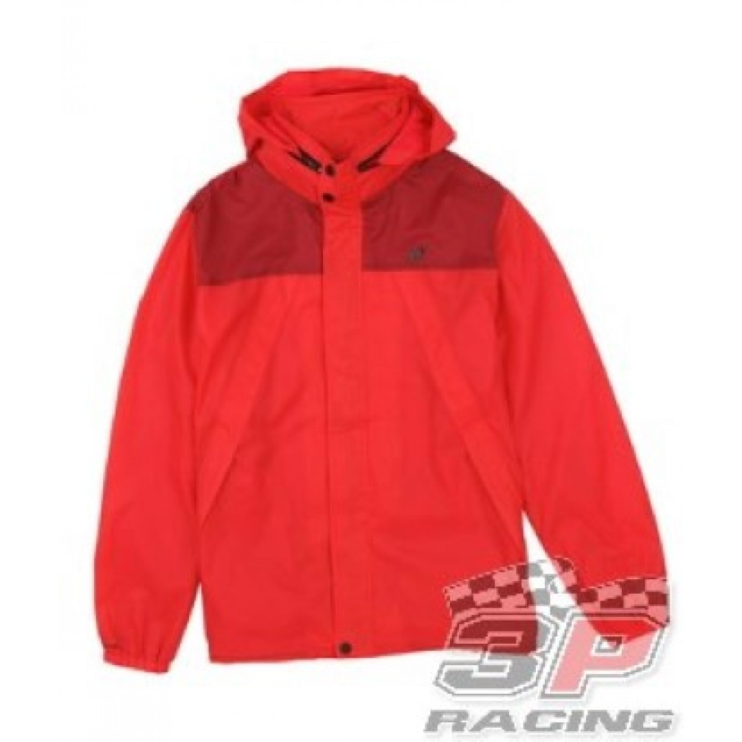 ONE Industries Amago Ripstop windbreaker jacket Red 39042-007
