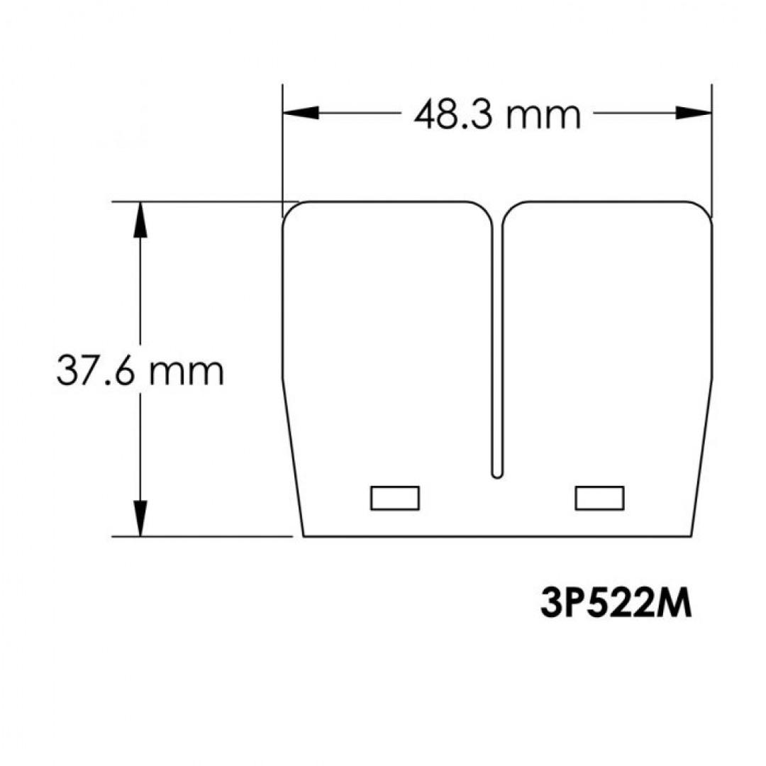 Carbon fiber V-Force 3 replacement reed petals 3P522M Yamaha Blaster 200, Banshee 350