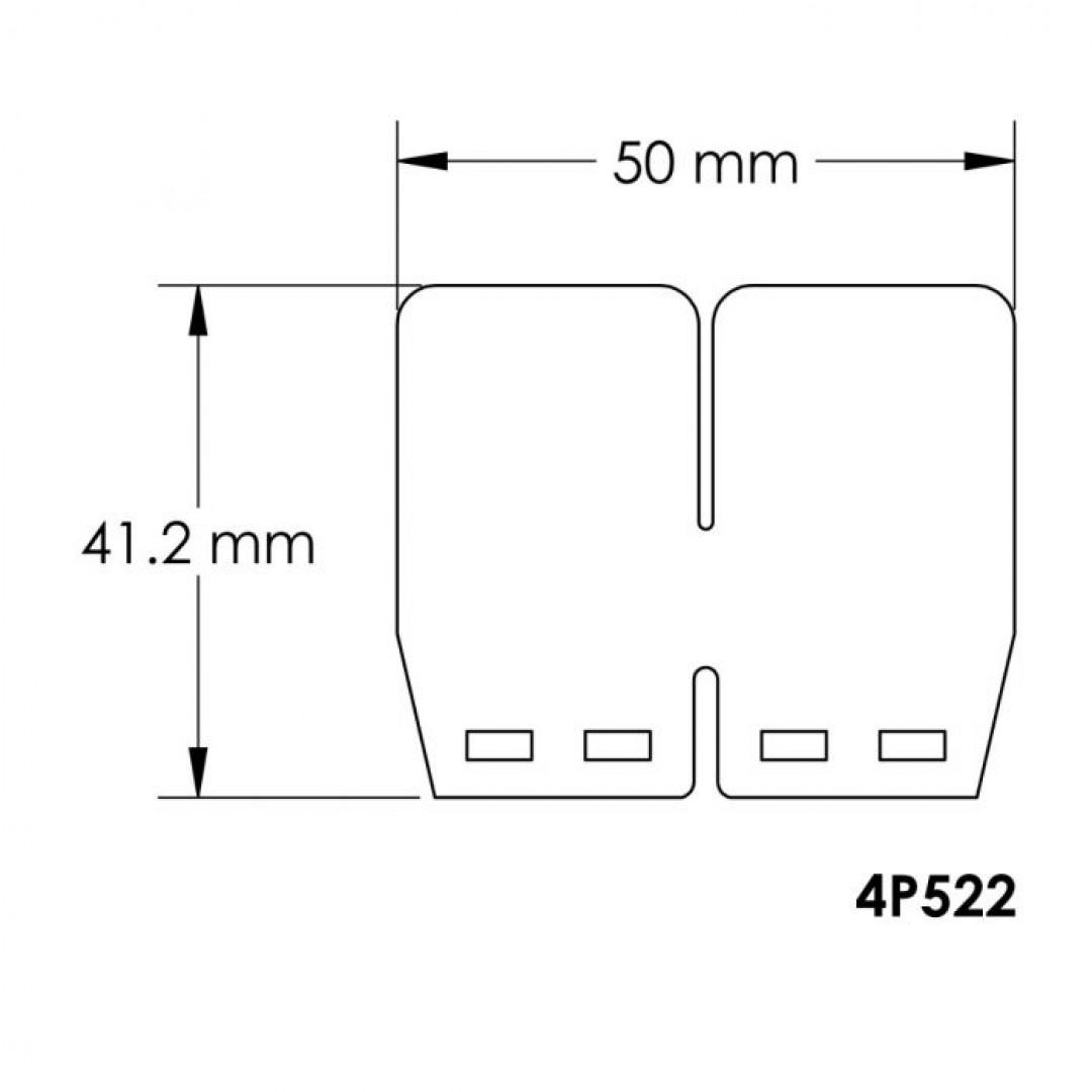 Carbon fiber V-Force 4 replacement reed petals 4P522 Yamaha Z-125, YZ 80,  ATV Yamaha Blaster 200, Banshee 350