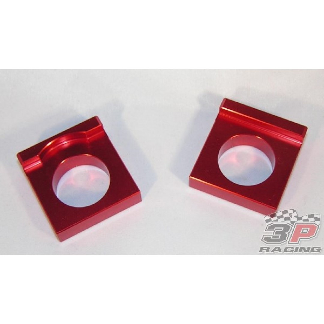 Accel axle blocks Red AC-AB-31-RED Husqvarna