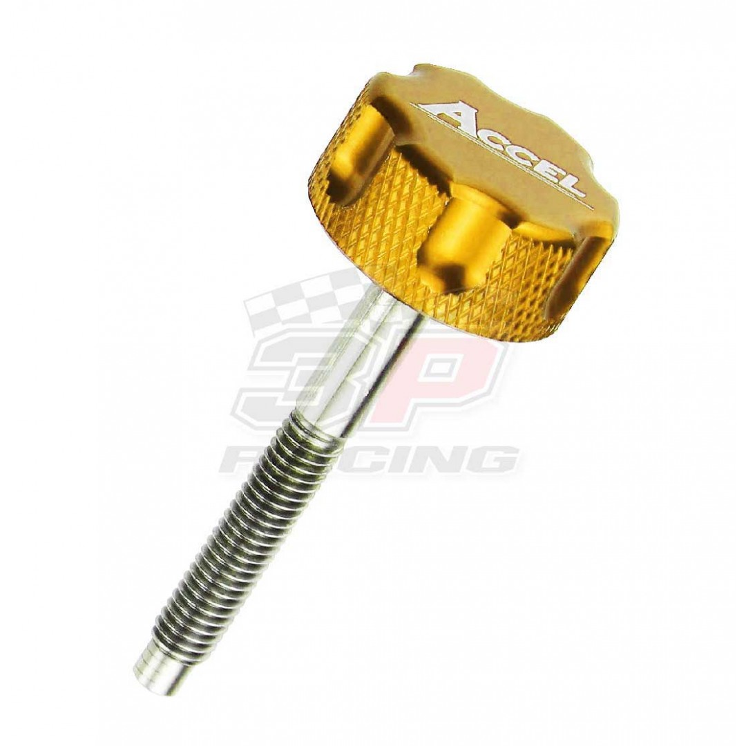 Accel air filter bolt Gold AC-AFB-01-GOLD Honda CR 80 1996-2002, CR 85 2003-2007, CRF 150R 2007-2019