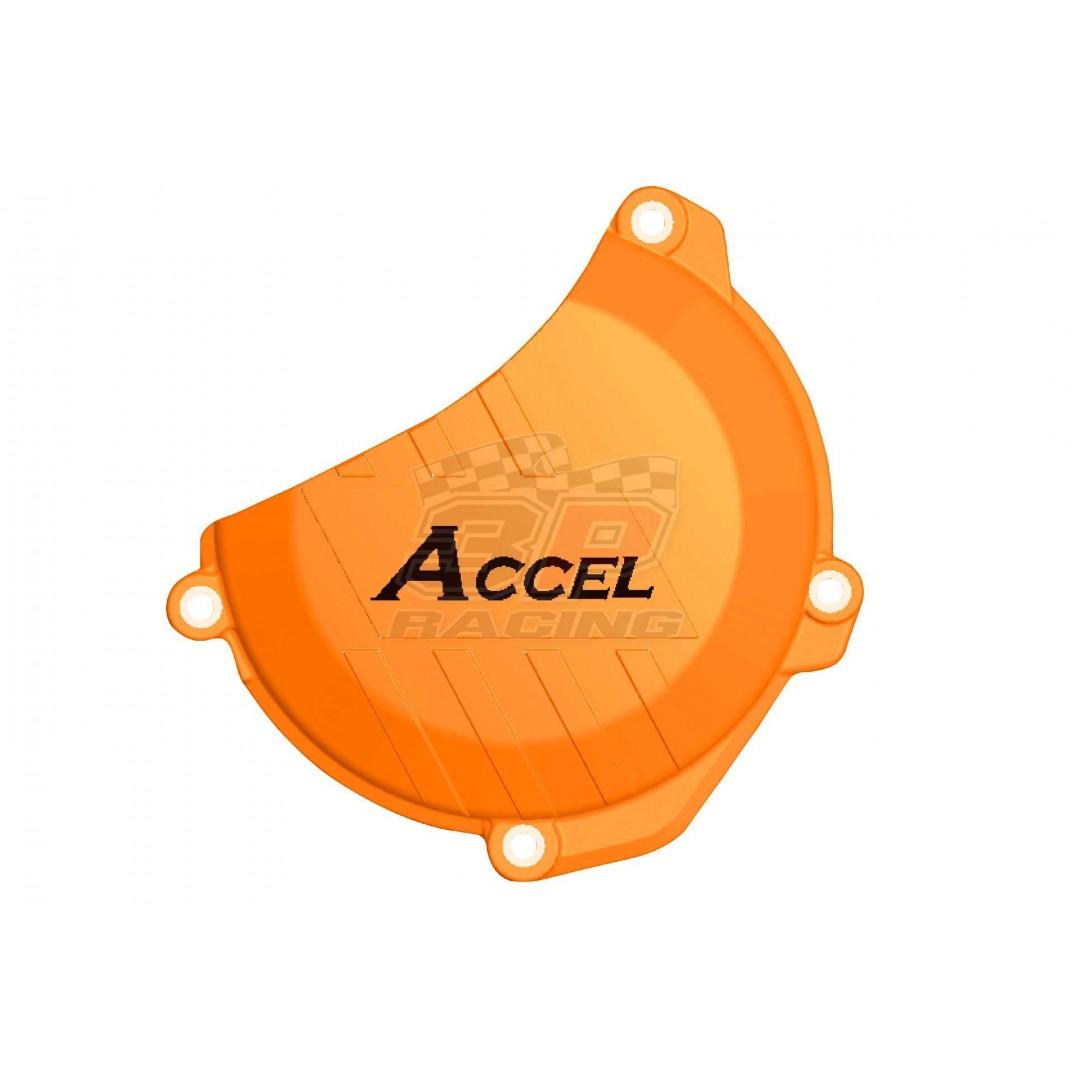 Accel clutch cover guard Orange AC-CCP-504-OR KTM SX-F 250/350, EXC-F 250/350, Husqvarna FE/FC 250/350