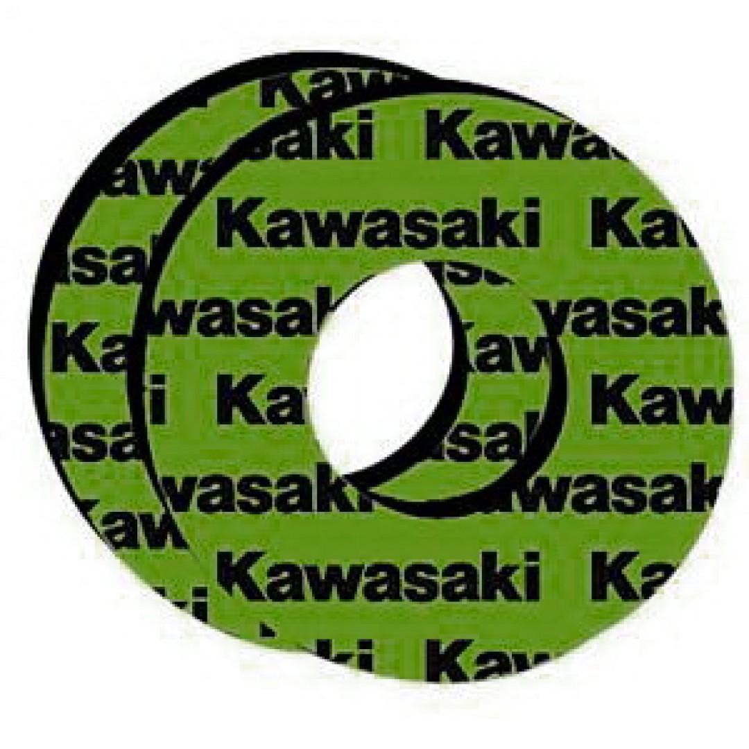 Accel Kawasaki grip donuts AC-GD-01-KAWASAKI
