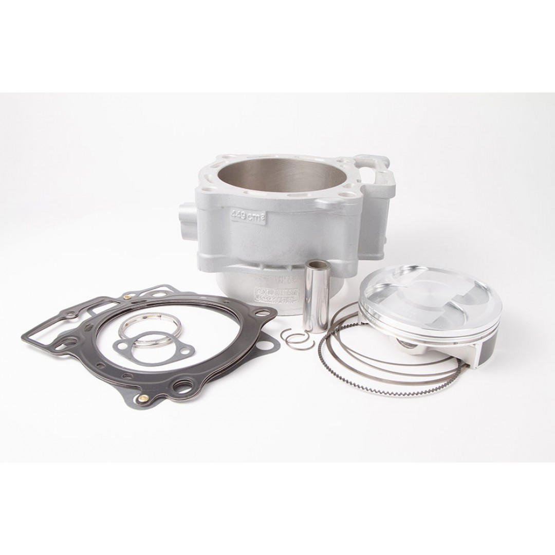 CylinderWorks 11006-K01 BigBore 478cc Nikasil cylinder kit with VerteX overbore piston and top end gasket set with 99.00mm diameter for Honda CRF450 CRF450R CRF 450 2009 2010 2011 2012. Replaces Honda OEM cylinder 12100-MEN-A50. P/N: 1