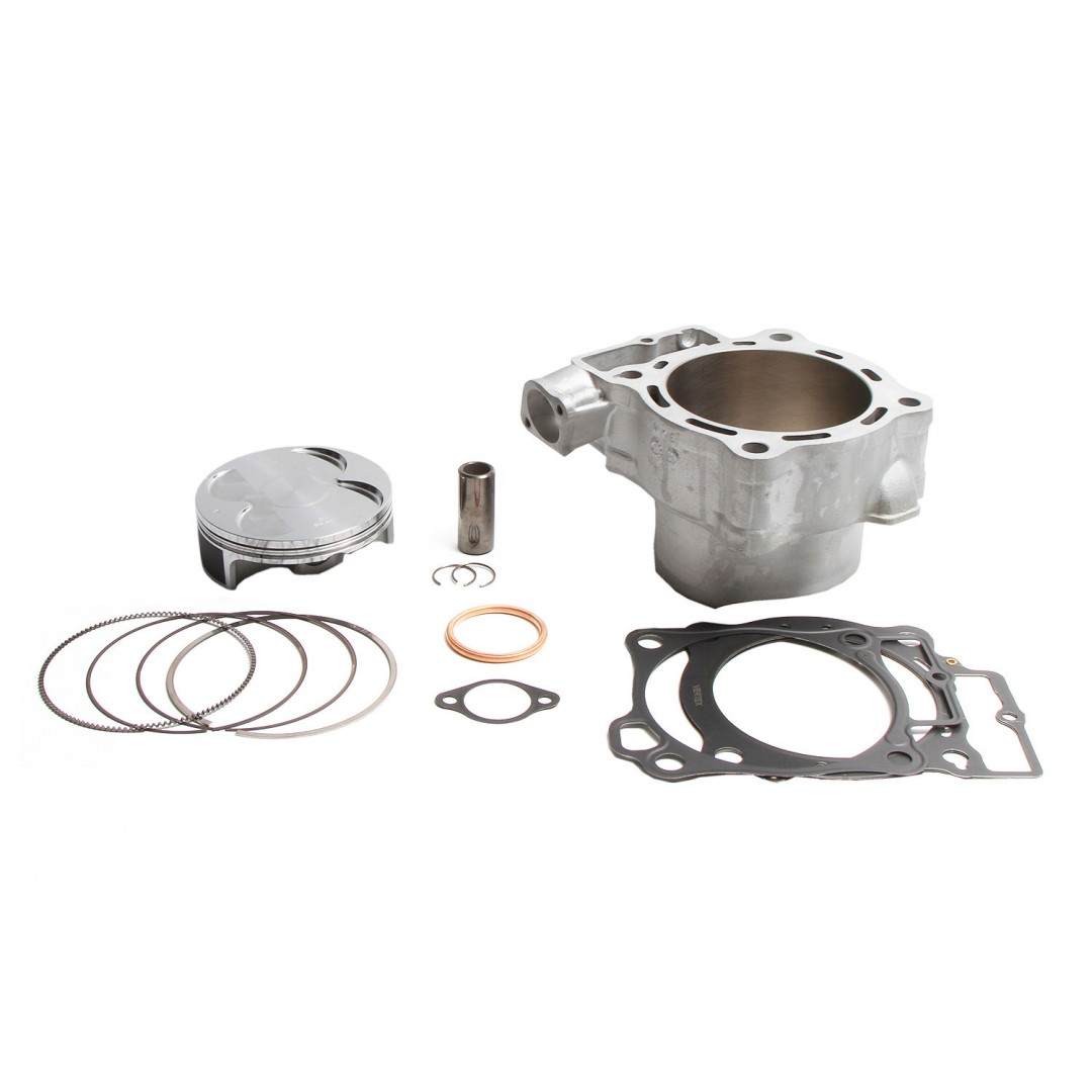 CylinderWorks 11010-K02 BigBore 478cc Nikasil cylinder kit with VerteX overbore piston and top end gasket set with 99.00mm diameter for Honda CRF450 CRF450R CRF 450 CRF450RX 2019. Replaces Honda OEM cylinder 12100-MKE-A00. P/N: 11010-K02