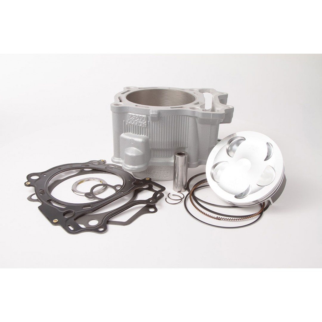 CylinderWorks 21003-K01 BigBore 478cc Nikasil cylinder kit with VerteX overbore piston and top end gasket set with 98.00mm diameter for Yamaha YZ450F YZ 450F YZF450 2006 2007 2008 2009 WR450F WR 450F WRF450 2010 2011 2012 2013 2014 2015.