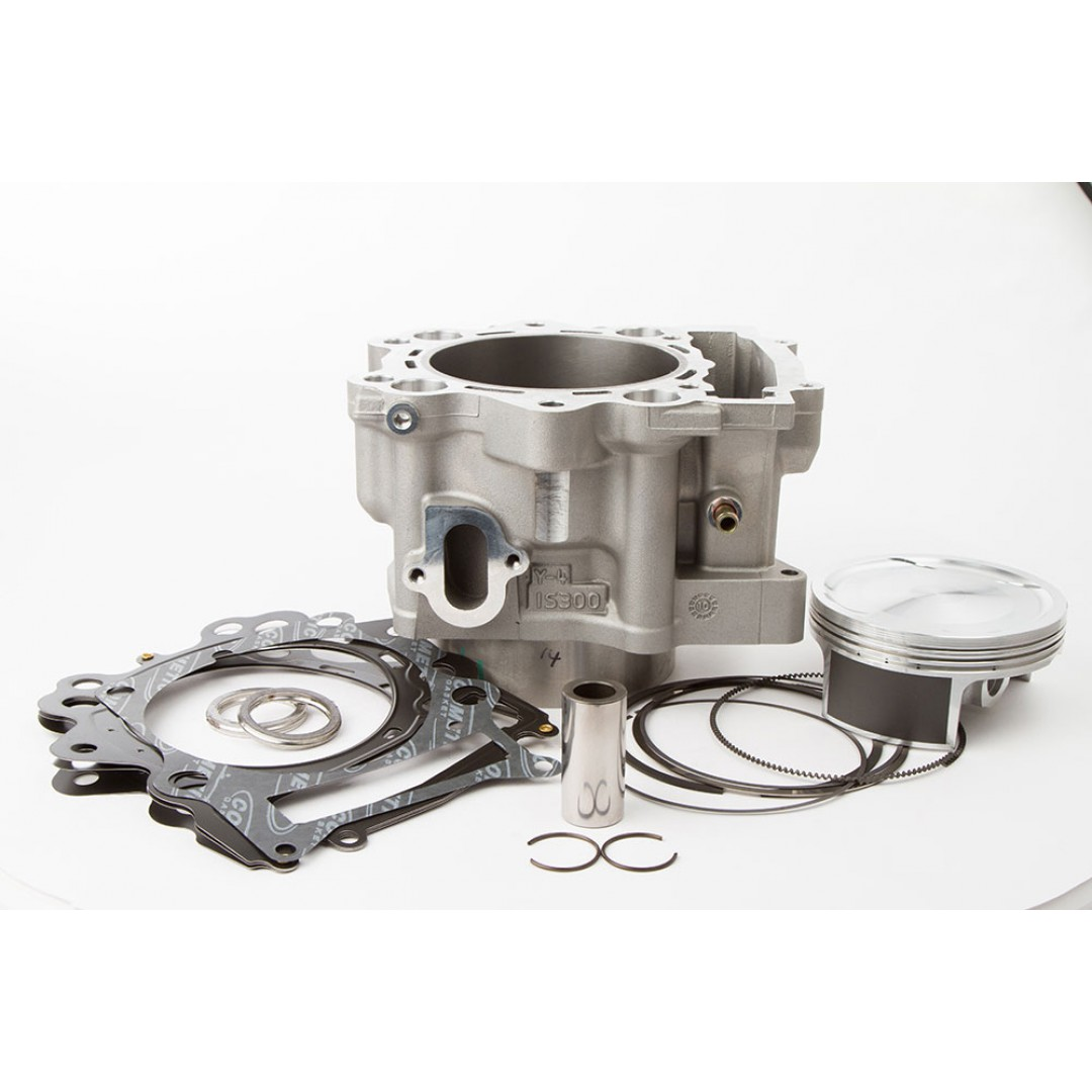 CylinderWorks 21004-K01 BigBore 727cc Nikasil cylinder kit with VerteX overbore piston and top end gasket set with 105.00mm diameter for Yamaha YFM700 Raptor700 YFM700R Raptor 700 2006 2007 2008 2009 2010 2011 2012 2013 2014. Yamaha OEM cylinder 1S3-11310