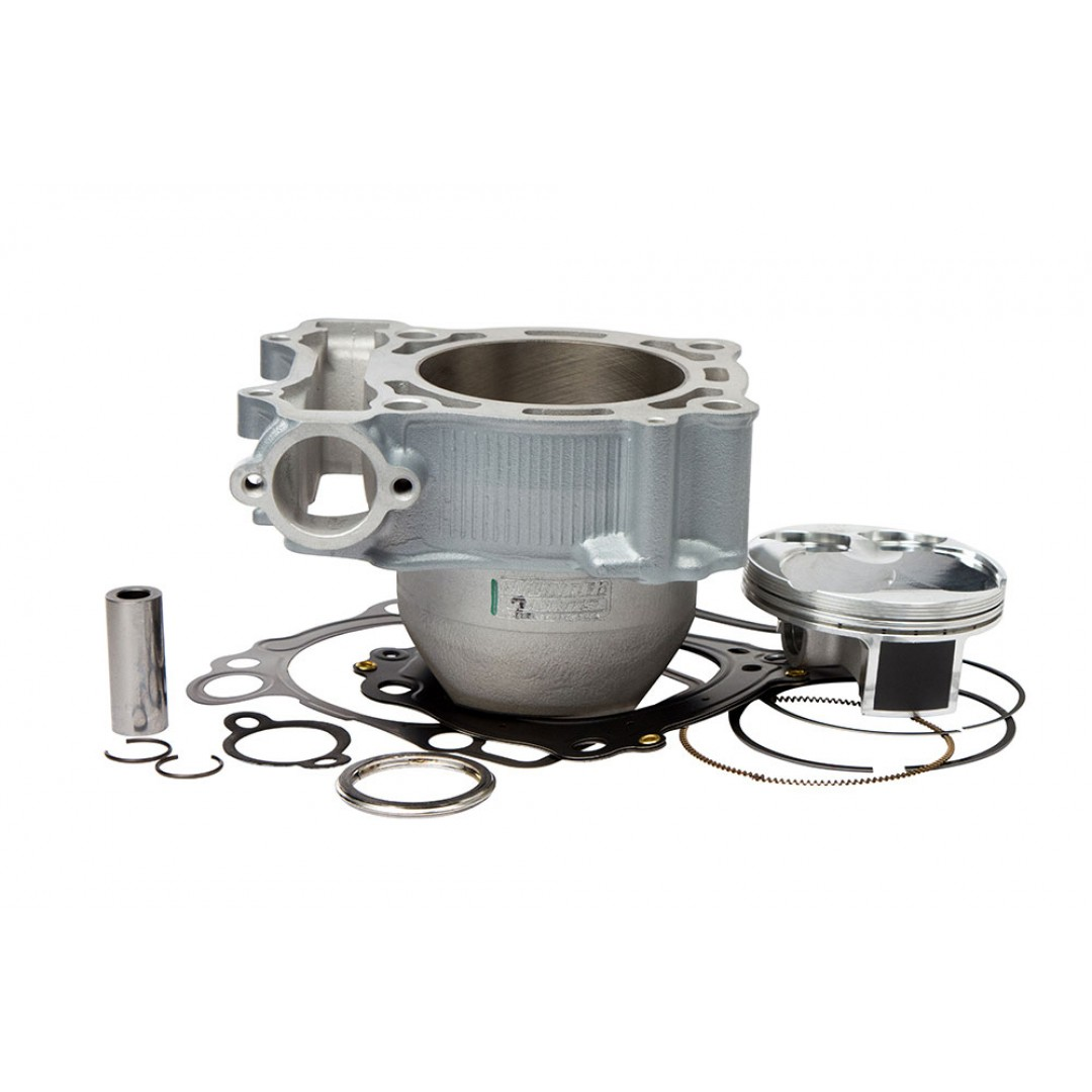 CylinderWorks 21010-K01 BigBore 269cc Nikasil cylinder kit with VerteX overbore piston and top end gasket set with 80.00mm diameter for Yamaha YZ250F YZ250FX YZ 250F YZF250 WR250F WR 250F WRF250 2014 2015 2016 2017 2018 2019. Yamaha OEM cylinder 1SM-11311