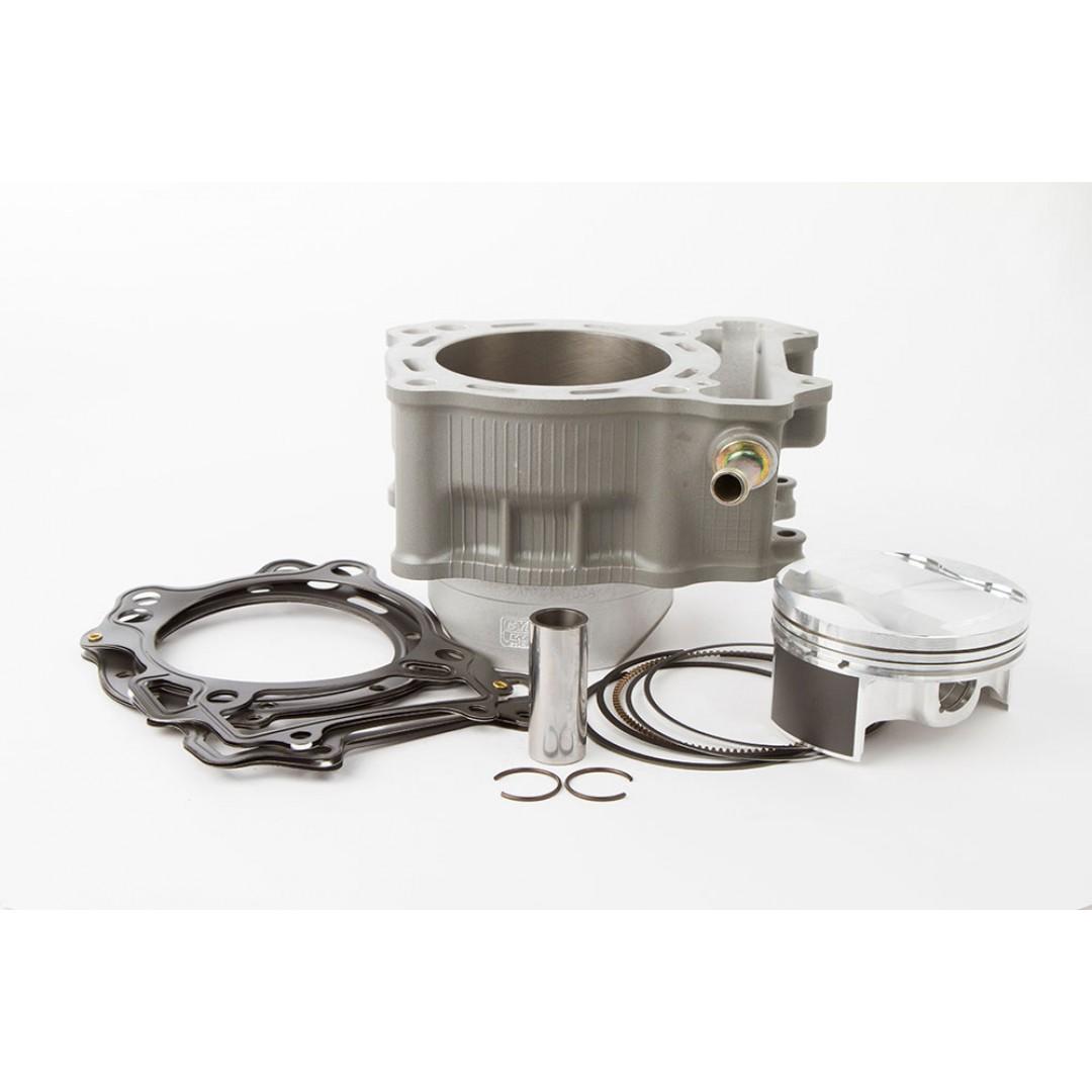 CylinderWorks 40001-k01 Standard cylinder kit OEM diameter 90.00mm with VerteX piston and top end gasket set for Suzuki DRZ400 DR-Z400 LTZ400 LT-Z400 LT-Z 400 , Kawasaki KLX400 KLX400R, KFX400, ArcticCat DVX400. Kawasaki OEM parts 11005-S007, Suzuki 11210