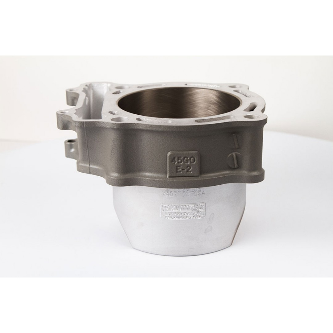 CylinderWorks 400002 standard bore cylinder OEM diameter 95.50mm for Suzuki LTR450 LT-R450 LTR 450 2006 2007 2008 2009. Replaces Suzuki OEM parts: 11211-45G00-0F0. P/N: 40002