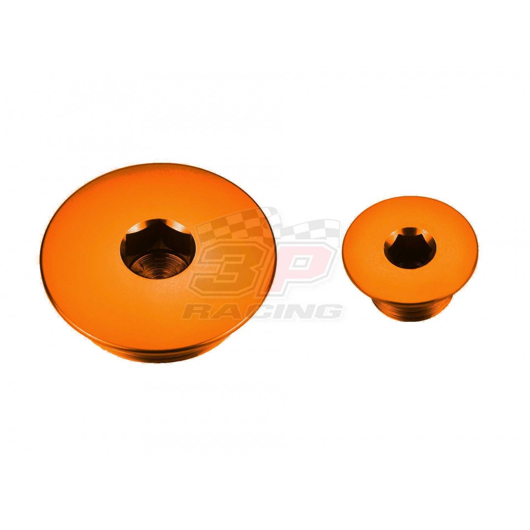 Accel engine plug kit Orange AC-ENP-03-OR ATV Honda TRX 300, TRX 400EX 1999-2014, TRX 450R 2004-2009