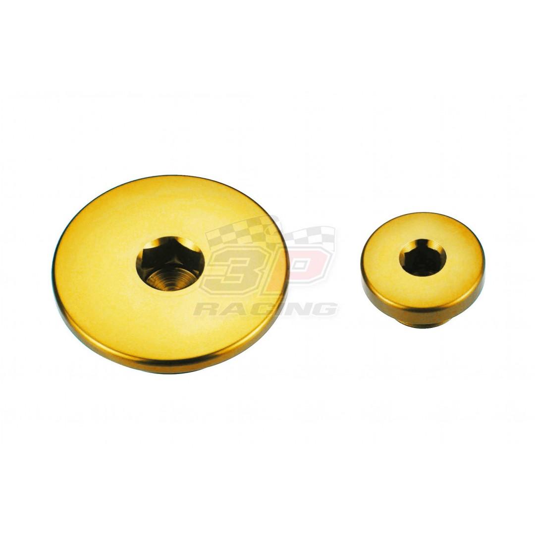 Accel engine plug kit Gold AC-ENP-04-GOLD Yamaha YZF 250/400/426/450, WRF 250/400/426, WR 250R, WR 250X