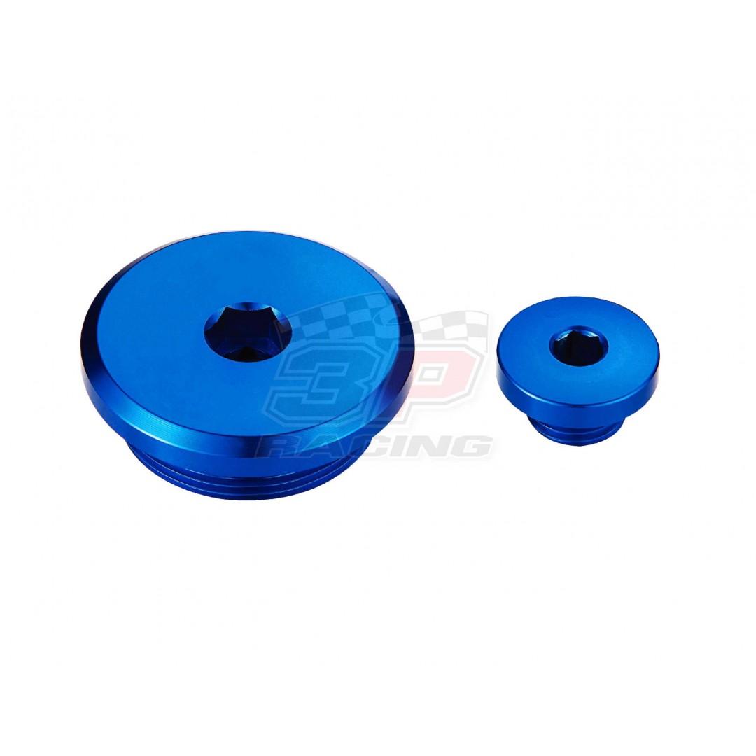 Accel engine plug kit Blue AC-ENP-12-BLUE Yamaha YZF 250, YZF 450, WRF 250, WRF 450, YZF 250X, YZF 450X