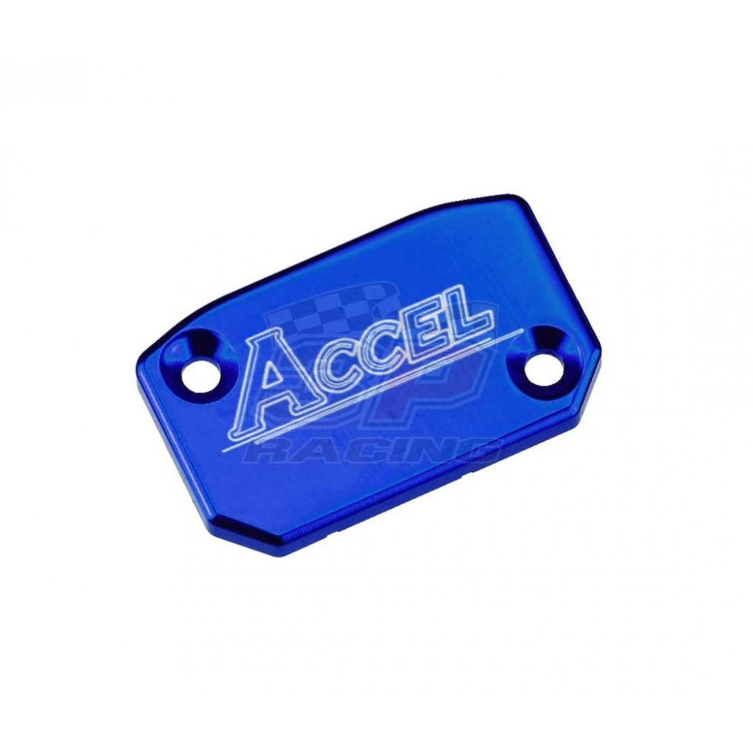 Accel Front brake reservoir cover Blue AC-FBC-03-BLUE Husqvarna TE/TC/TX 125/150/250/300, FE/FC/FX 250/350/450/501, KTM SX/EXC & SX-F/EXC-F 125-530