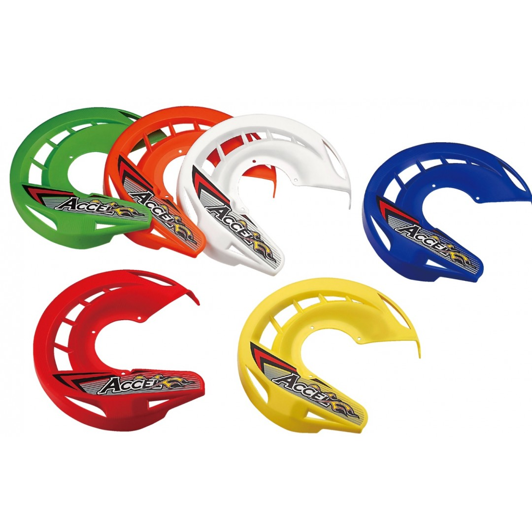 Accel universal front disc plastic cover for Accel front brake disc guards FDC-01