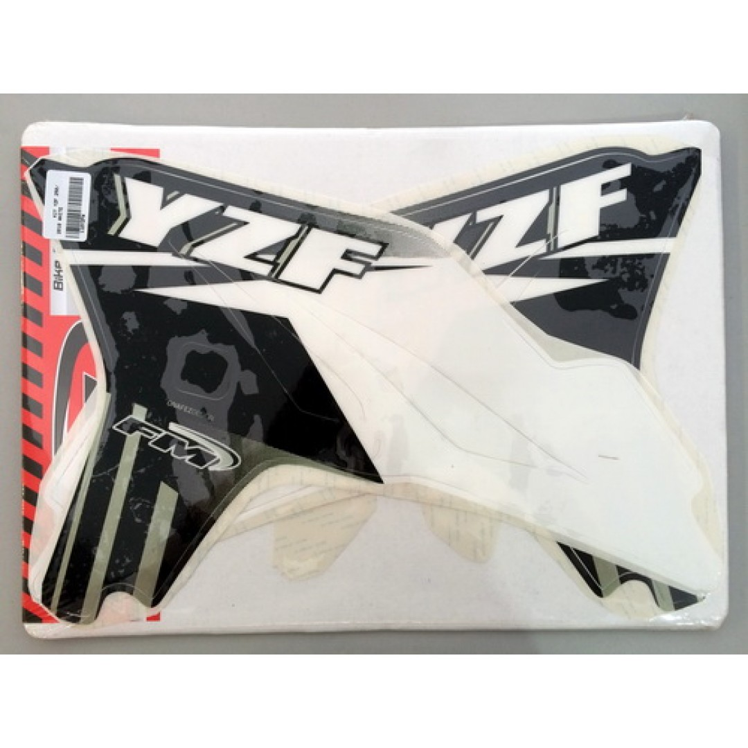 FM Racing radiator decals KCS/1/10/YZF/W Yamaha YZF 250 2010-2013