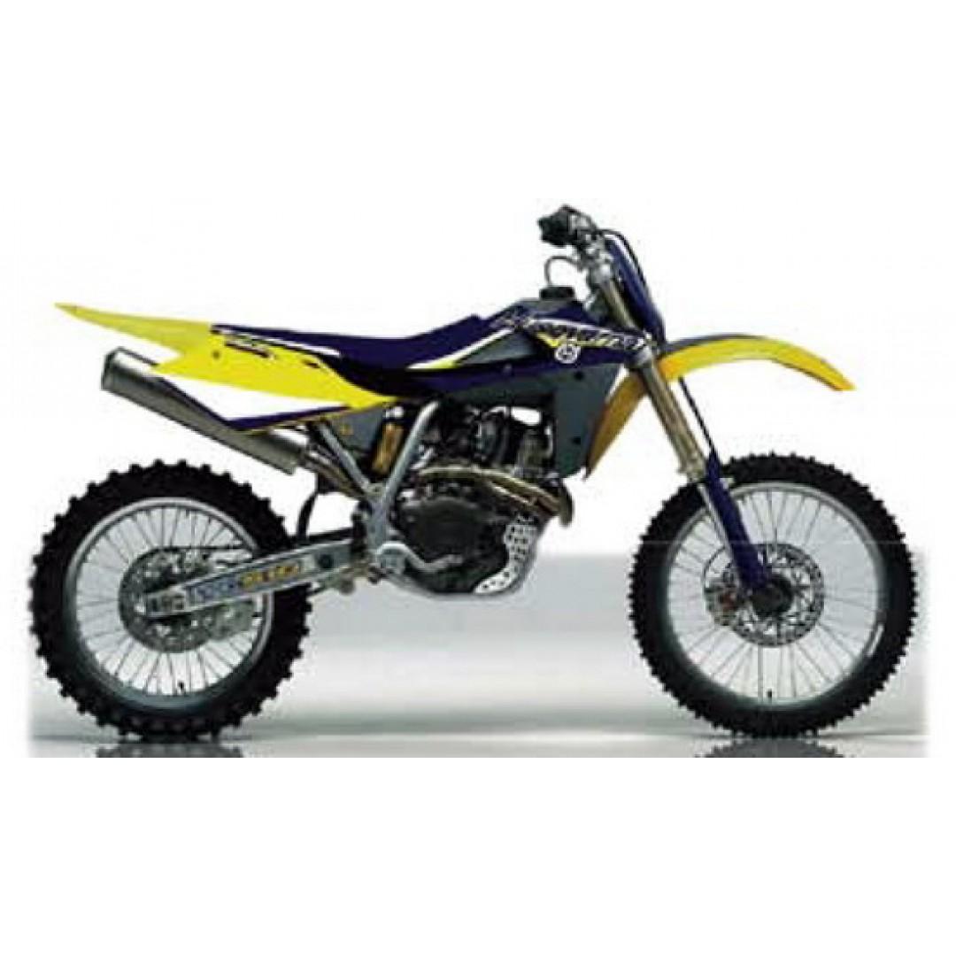 FM Racing radiator decals KCS/2/06/HVA/BL Husqvarna TE/TC 250/450/510/610
