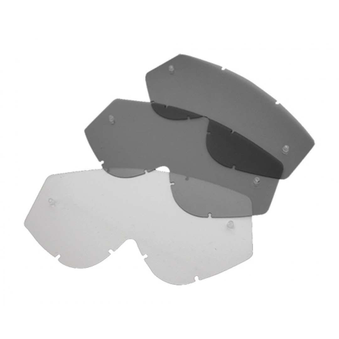 FM Racing mirror lens for Muddy goggles MU/SILVER/SP