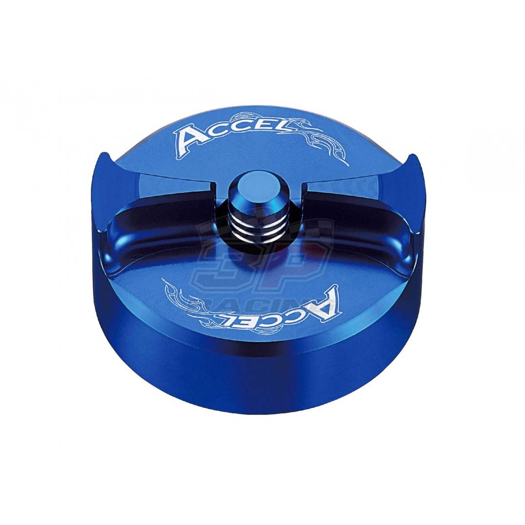 Accel gas tank cap Blue AC-GTC-15-BL 1SL-24610-10-00 1SL-24610-00-00Yamaha YZF 250, YZF 450, WRF 250, WRF 450, YZF 250X, YZF 450X 2014-2019