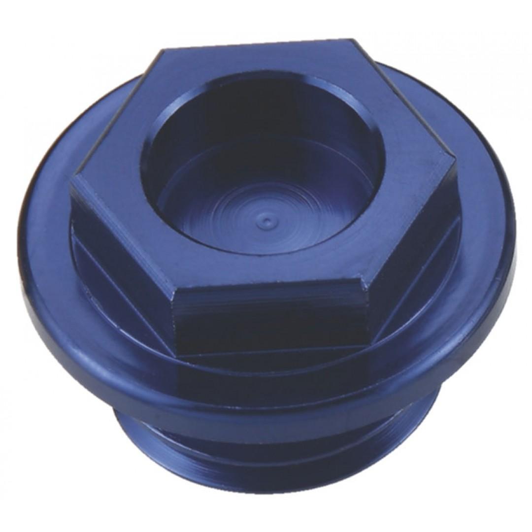 Accel oil fill plug Blue AC-OFP-04-BL Kawasaki KX 250,KXF 250/450, KLX 450R, Suzuki RMZ 250
