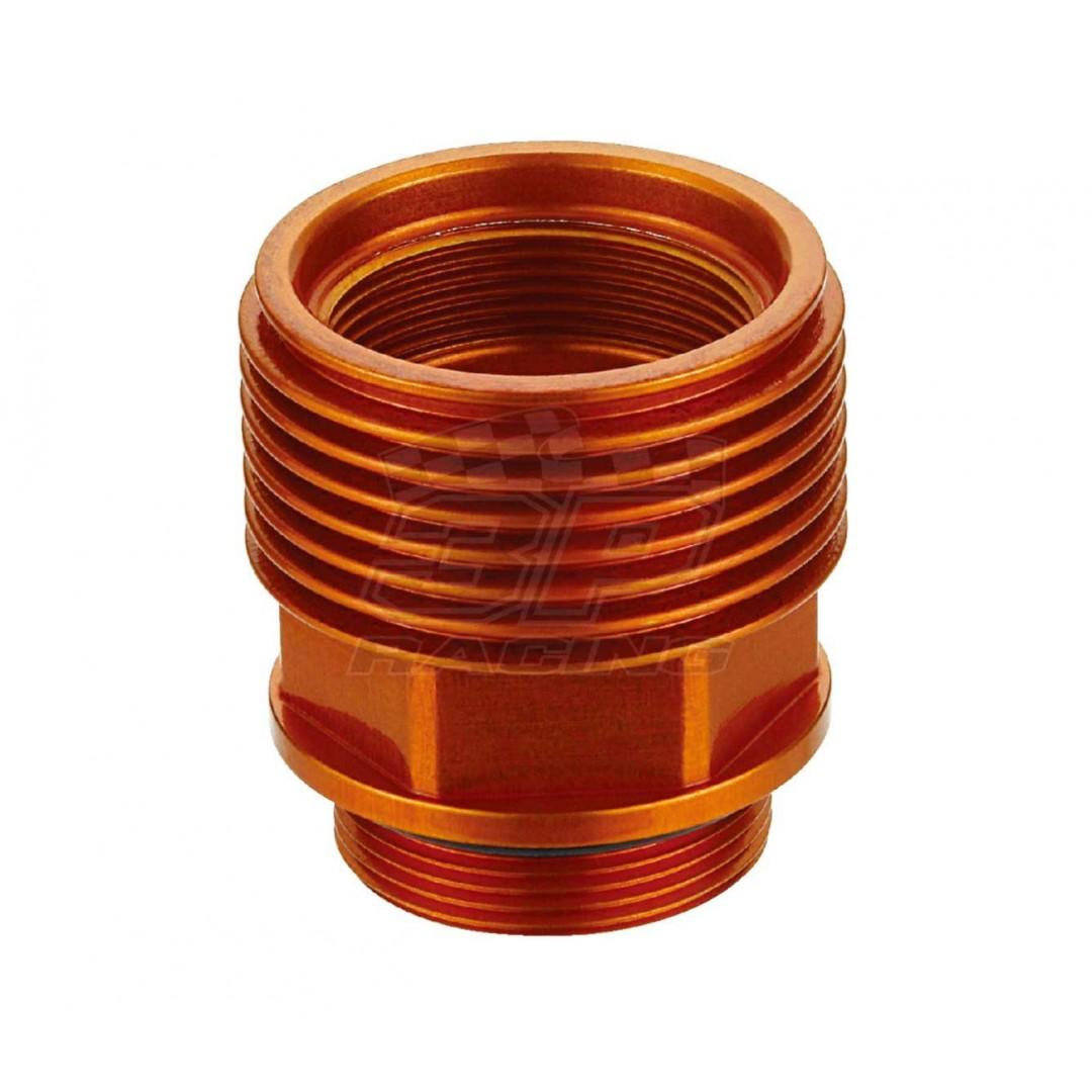 Accel CNC Orange rear brake master cylinder fluids extender & cooler for KTM SX125 SX144 SX150 SX200 SX250 SX450 SX525, EXC125 EXC200 EXC250 EXC300 EXC400 EXC450 EXC500 EXC525, SX-F250 SX-F350 SX-F450 SX-F505, EXC-F250 EXC-F350 EXC-F450 EXC-F500, EXCR, SX