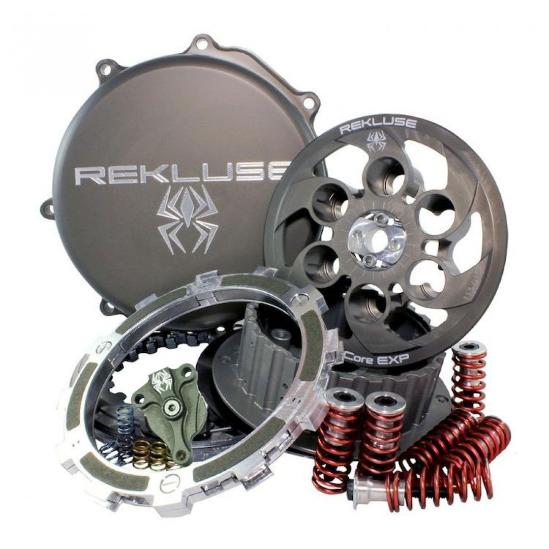 Rekluse Core EXP 3.0 semi auto clutch system RMS-7700 Gas Gas EC 200, EC 250, EC 300, MC 250, MC 300 2000-2017. for Off-road 2T GasGas EC200 EC250 EC250R EC300 EC300R MC250 MC300 2000-2017. Change / Shift gear without clutch lever use. Enhanced, faster, m