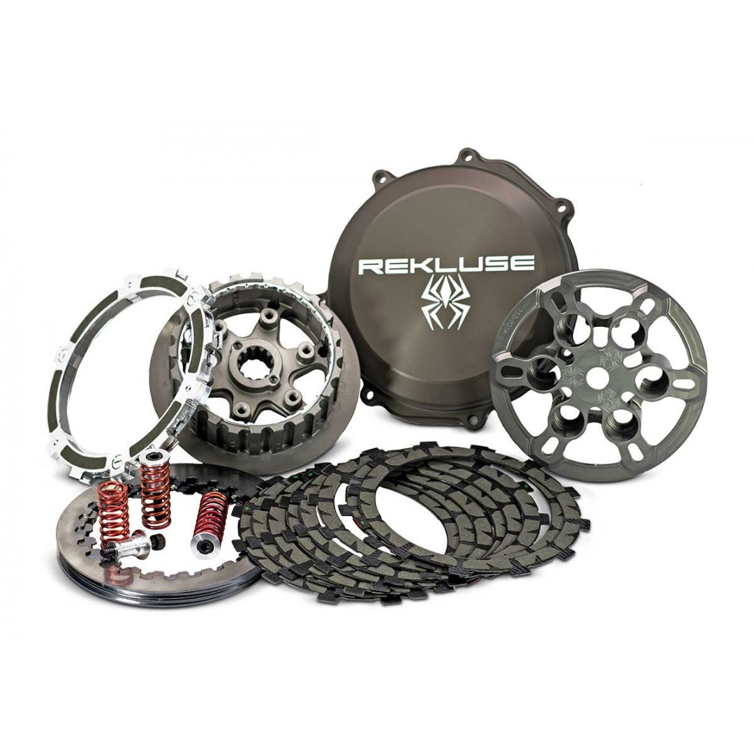 Rekluse RMS-7901001 RadiusCX semi auto clutch set for Off-road Honda CRF250 CRF250R CRF250RX 2018 2019 2020. Change / Shift gear without clutch lever use. Enhanced, faster, more fun motocross & enduro riding. P/N: 7901001