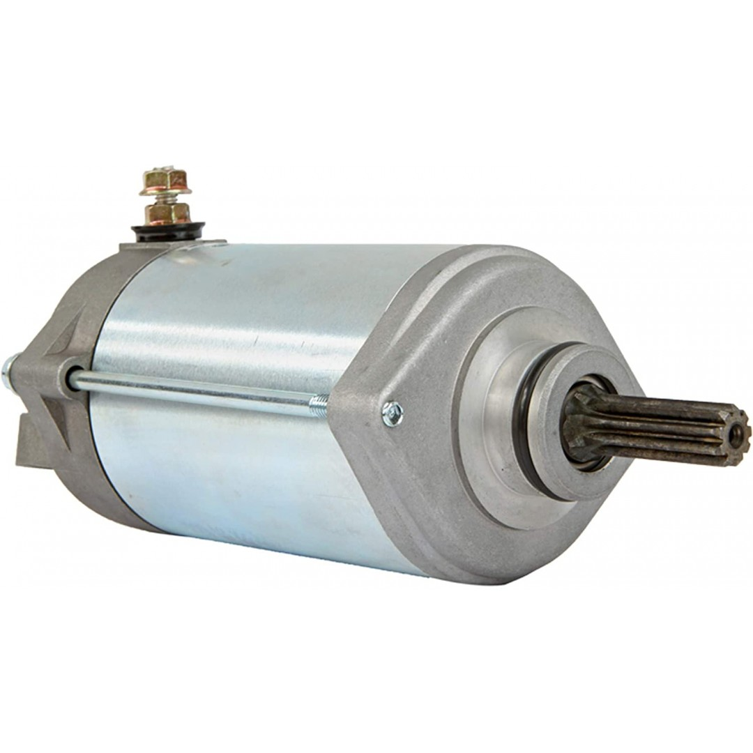 Arrowhead SND0230 replacement starter motor assembly for Suzuki GSXR1300 GSX-R1300 GSX-R 1300 Hayabusa Gen1 2003 2004 2005 2006 2007. Replaces OEM parts: Suzuki 31100-24F10