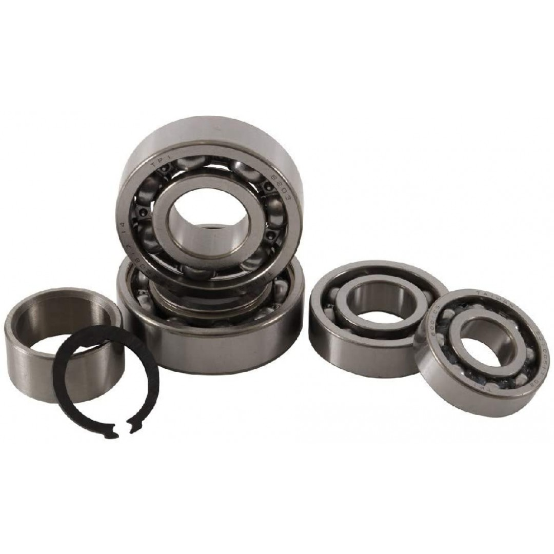 HotRods transmission bearings set for ATV Yamaha YFM660F YFM660 Grizzly660 Grizzly 660 2002 2003 2004 2005 2006 2007 2008, YXR660F YXR660 Rhino660 Rhino 660 2004-2007. P/N : TBK-0011. Engine case installation or repair.