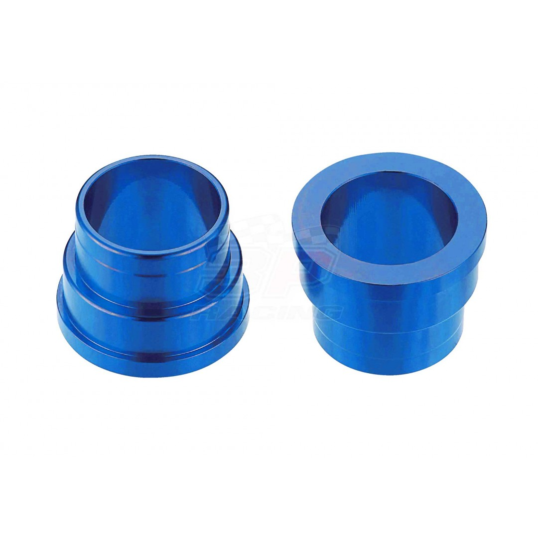 Accel CNC Blue frontwheel spacer kit for Husaberg Husqvarna FE250 FE350 FE390 FE450 FE501 FE550 FE570 FE650, FC250 FC350 FC450 FC650, FS-E FS450 FS550 FS570 FS650, TE125 TE250 TE300, TC125 TC250, 701 Enduro.Husqvarna OEM 78009012000 54809012000