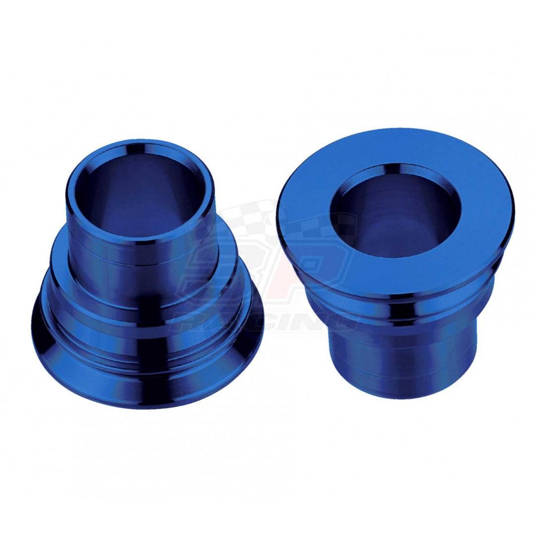 Accel CNC Blue rearwheel spacer kit AC-WSR-07-BL for Husaberg Husqvarna FE250 FE350 FE390 FE450 FE501 FE570 FE650 FC250 FC350 FC450 FC650 FX450 FS570 FS650, TE125 TE150 TE250 TE300, TC85 TC125 TC250, TX125. Husqvarna OEM 78010016000, Husaberg 54610016000