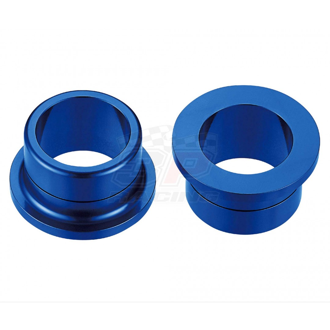 Accel CNC Blue rearwheel spacer kit for Yamaha YZF250 YZ250F YZ 250F, YZF450 YZ450F YZ 450F 2009-2020. Yamaha OEM 17D-2530S-00-00 BR9-2530S-00-00. Billet aluminum alloy. Color anodized. P/N: AC-WSR-09-BL