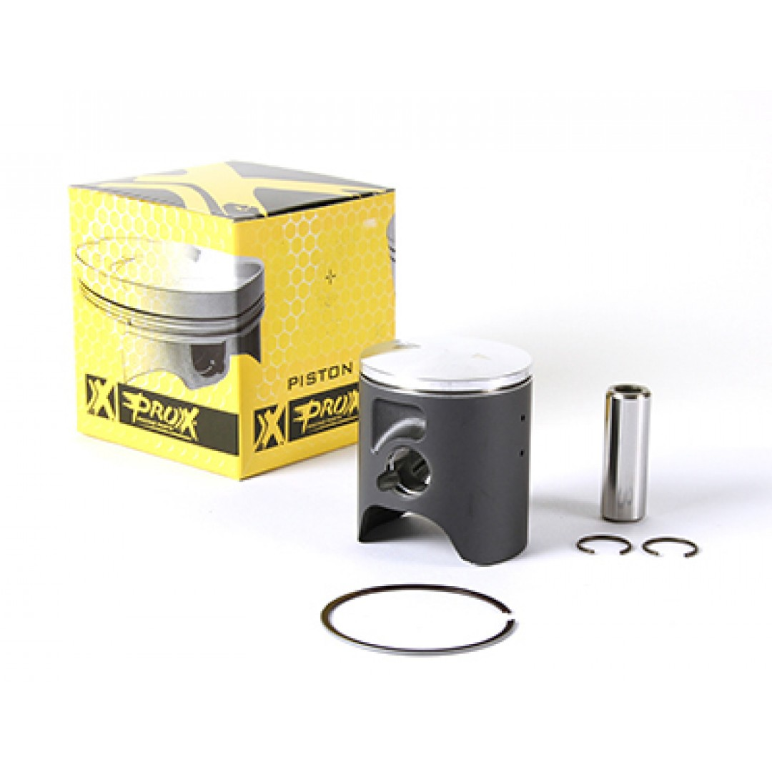 ProX forged piston kit for Yamaha YZ65 2018-2020, Kit includes piston rings,pin and circlips. P/N: 01.2018.A, 01.2018.B, 01.2018.C , Diameter: 43.44mm(A), 43.45mm(B), 43.45mm(C). Single Spring
