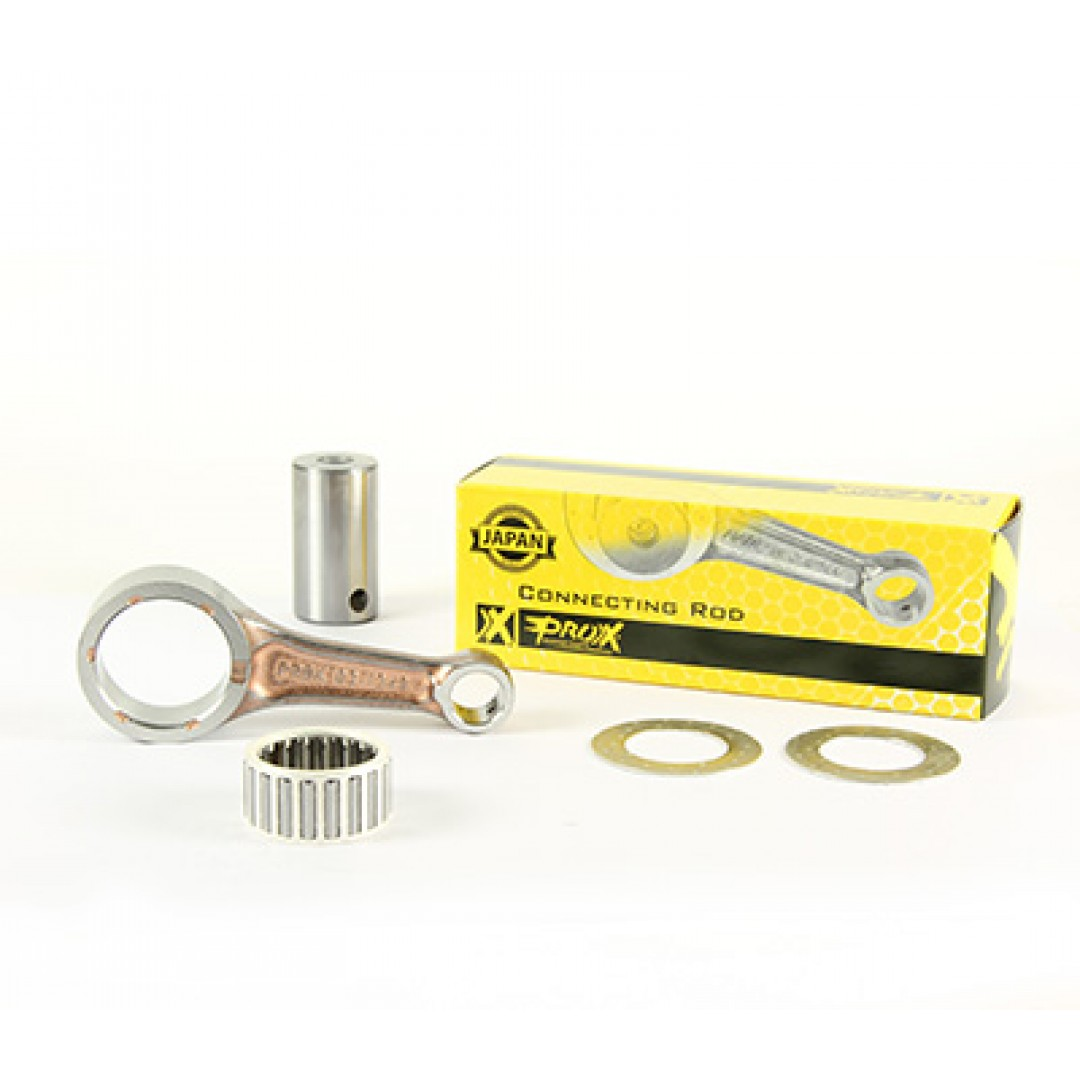 ProX 03.1348 connecting rod for Honda CRF250 CRF250R 2018 2019 2020, CRF250RX 2019 2020. Kit includes connecting rod,crank pin,big end bearing and thrust washers. P/N: