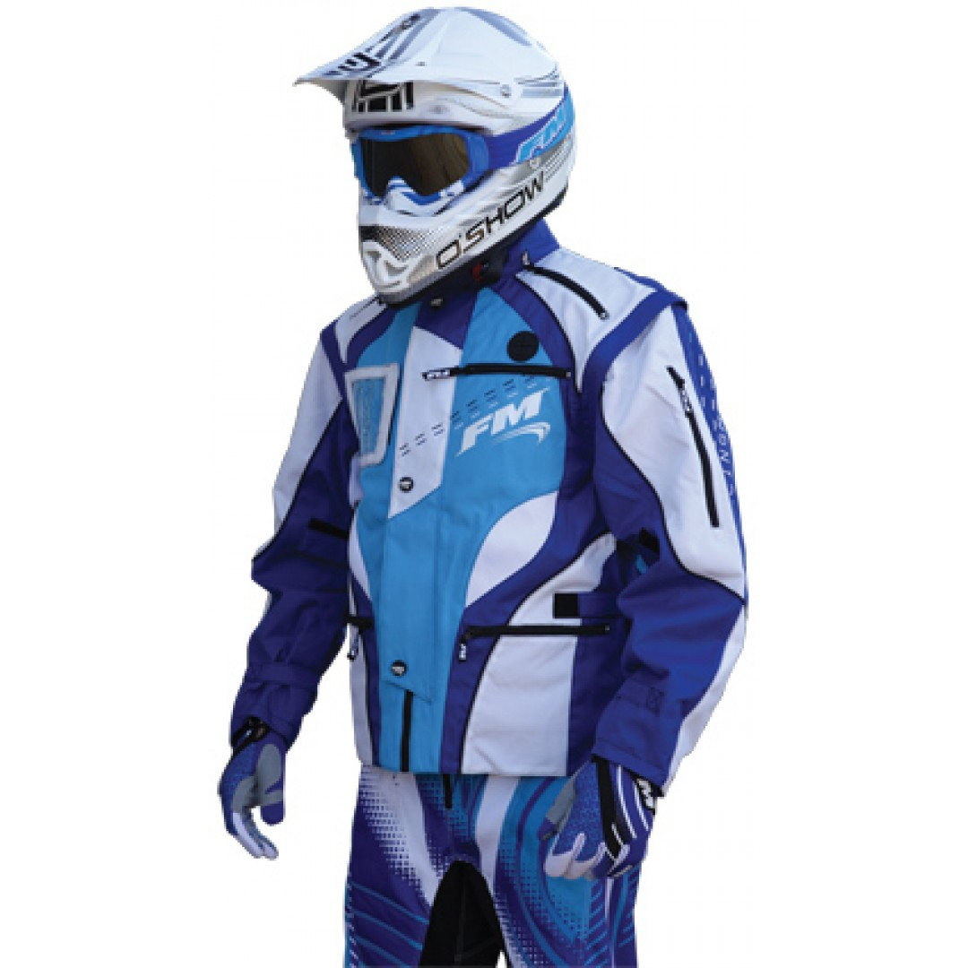 FM Racing enduro jacket X20 Blue GI/002/20