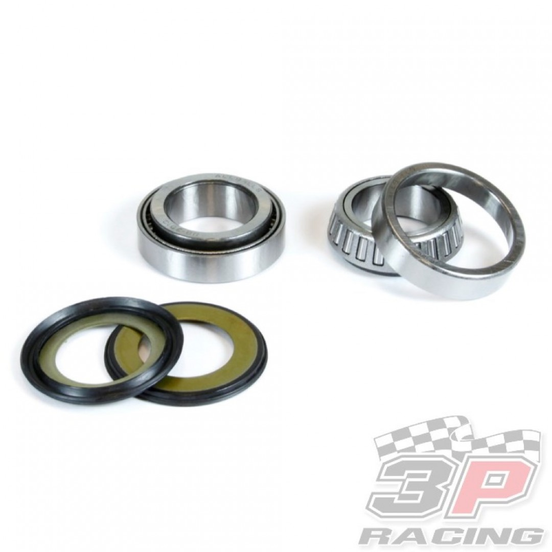 All Balls Racing steering head bearings & seals kit 22-1010 Honda CR 125, CR 250, CRF 250R, CRF 250X, CRF 450R, CRF 450X, CRF 450RX, TM Racing EN MX 125 144 250 300 250F 400F 450F 530F. steering stem bearing & seal set for Honda 1992-2019 CR125 CR125R CR2