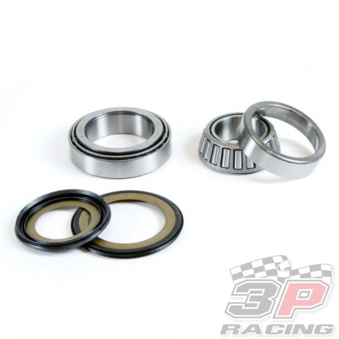 ProX 24.110037 steering stem bearing & seal set for Honda FSC600 Silverwing600, GL1800 Goldwing1800, NSS300 Forza300, RC 51 RVT1000R RVT1000 VTR1000 SP1 SP2, VT1300, SH300 SH300i SH300A. P/N: 24.110037