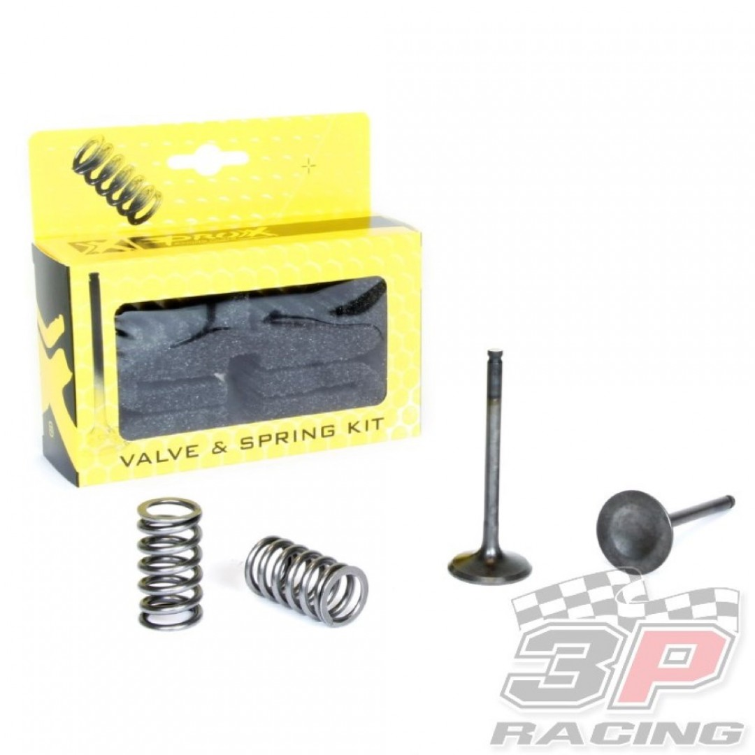 ProX steel exhaust valves & springs set 28.SES2424-1 Yamaha YZF 450, WRF 450, ATV YFZ 450, YFZ 450R, Gas Gas EC 450F