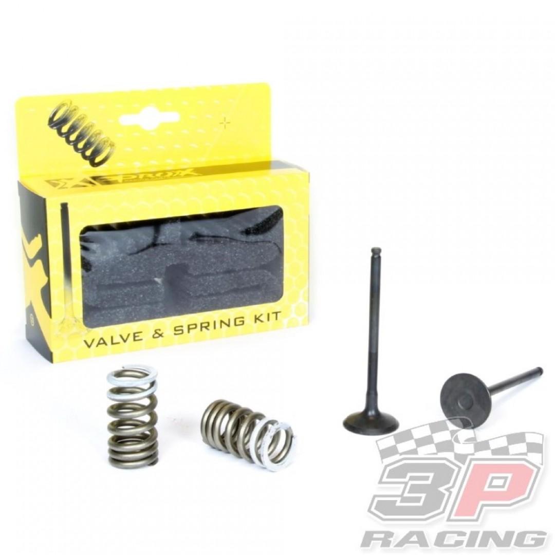ProX steel exhaust valves & springs set 28.SES3338-1 Suzuki RMZ 250 2007-2015