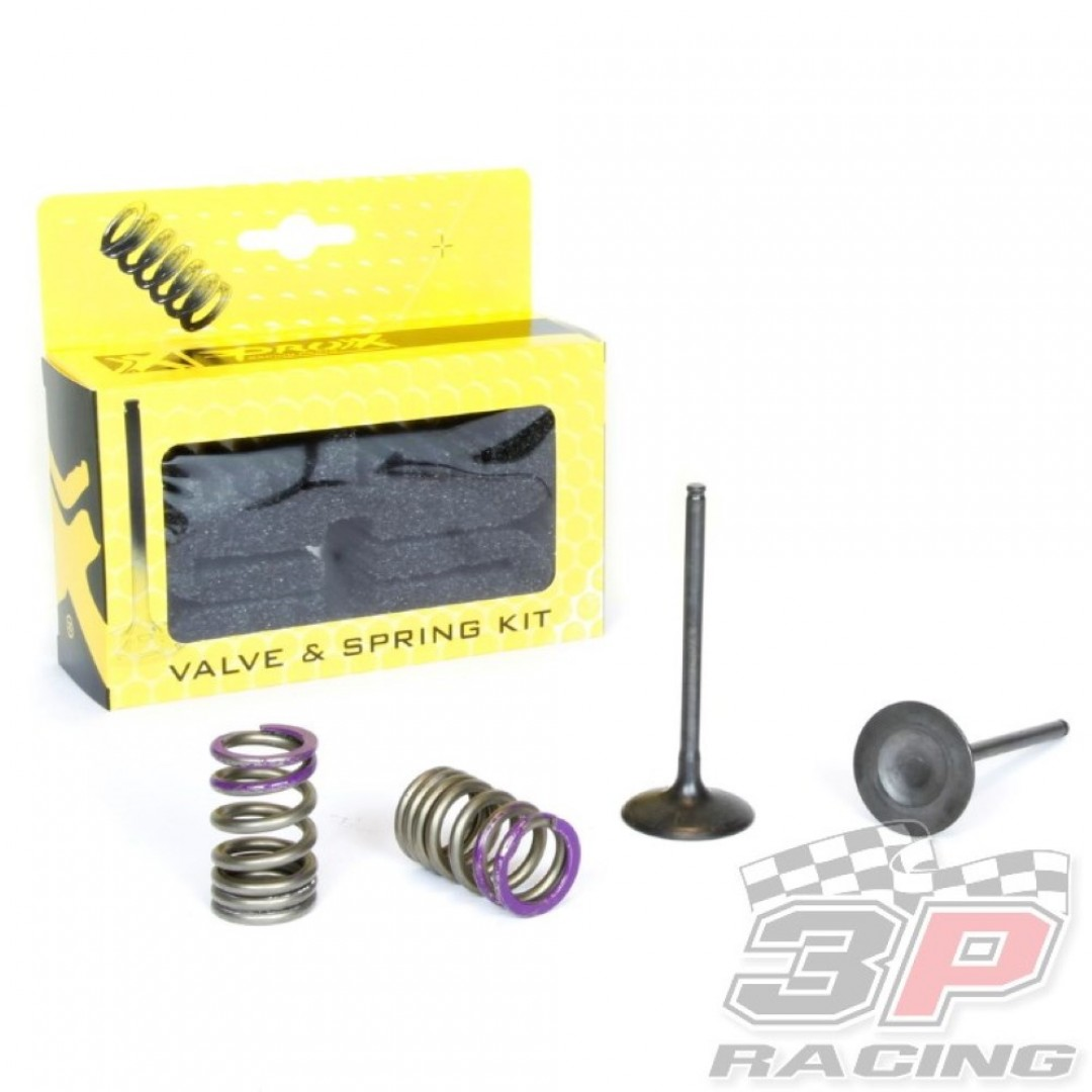 ProX steel intake valves & springs set 28.SIS4336-2 Kawasaki KXF 250 2007-2008
