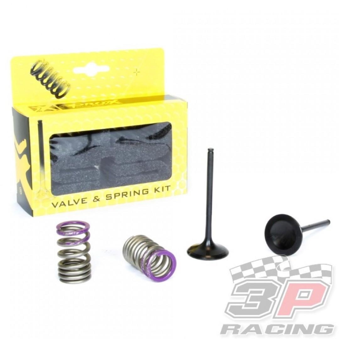 ProX steel intake valves & springs set 28.SIS4338-2 Kawasaki KXF 250 2009-2010