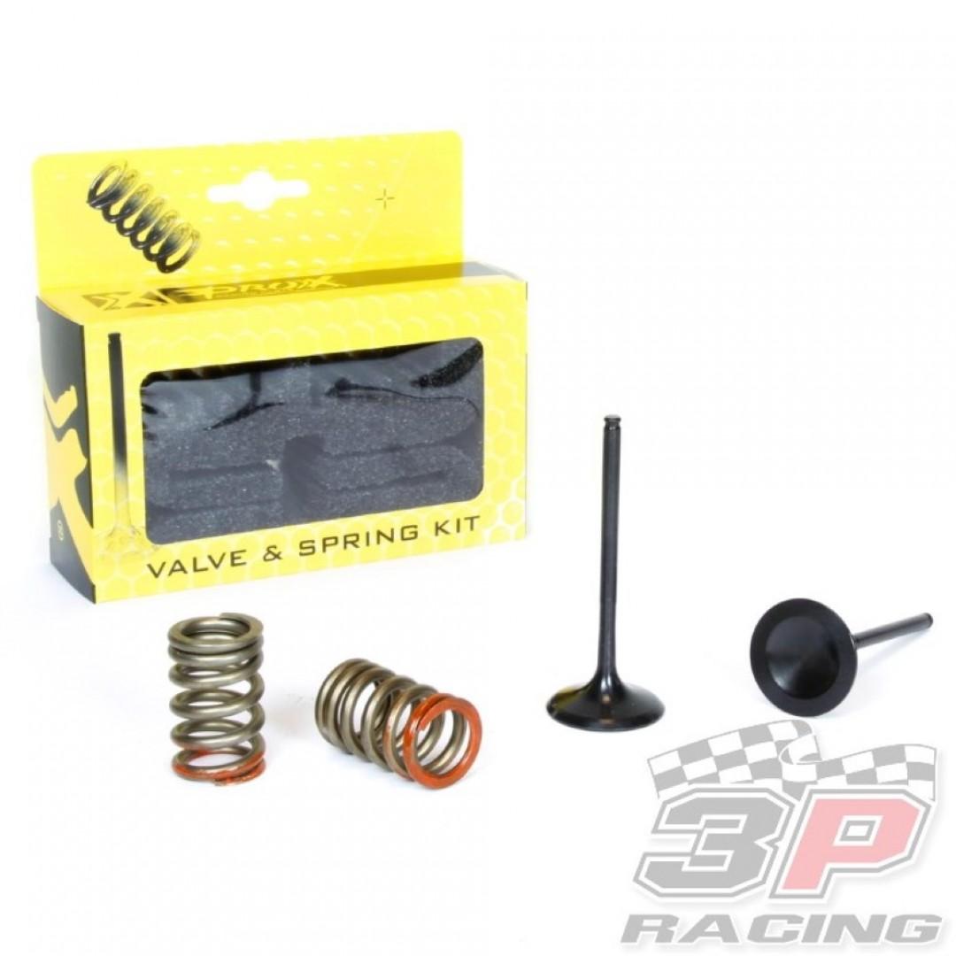 ProX steel intake valves & springs set 28.SIS4341-2 Kawasaki KXF 250 2011-2016
