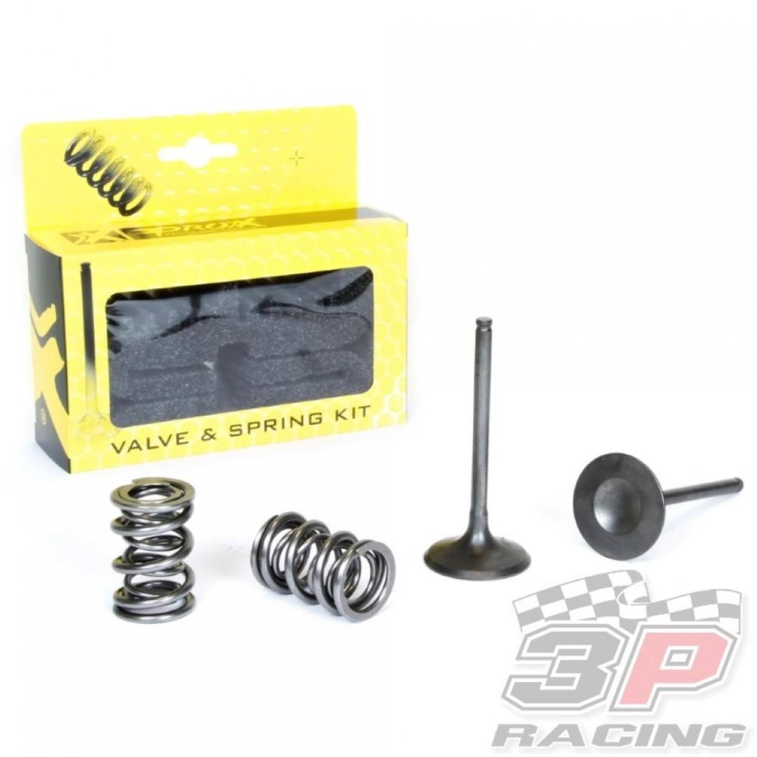 ProX steel intake valves & springs set 28.SIS4406-2 Kawasaki KXF 450 2006-2008
