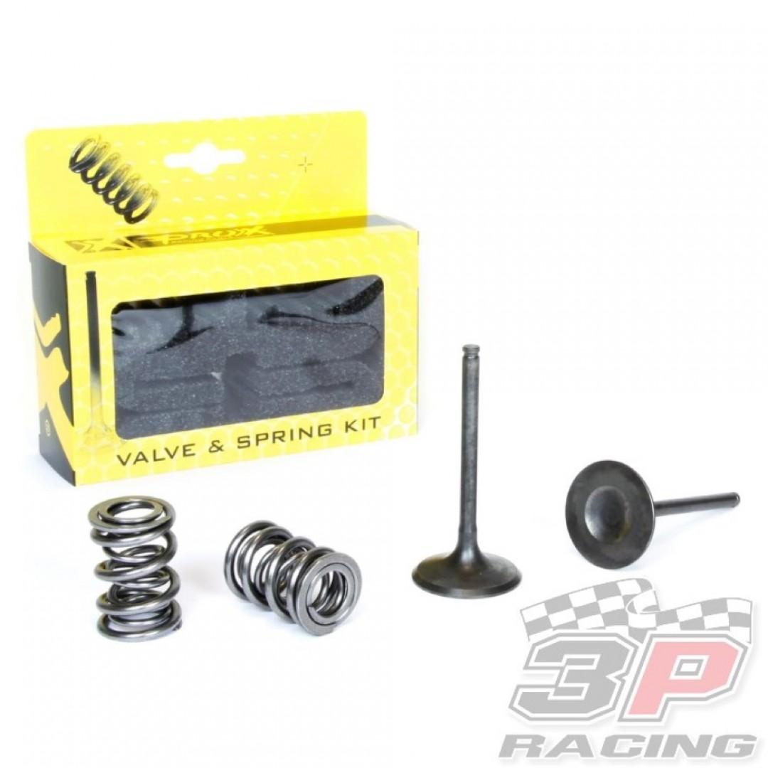 ProX steel intake valves & springs set 28.SIS4409-2 Kawasaki KXF 450 2009-2015