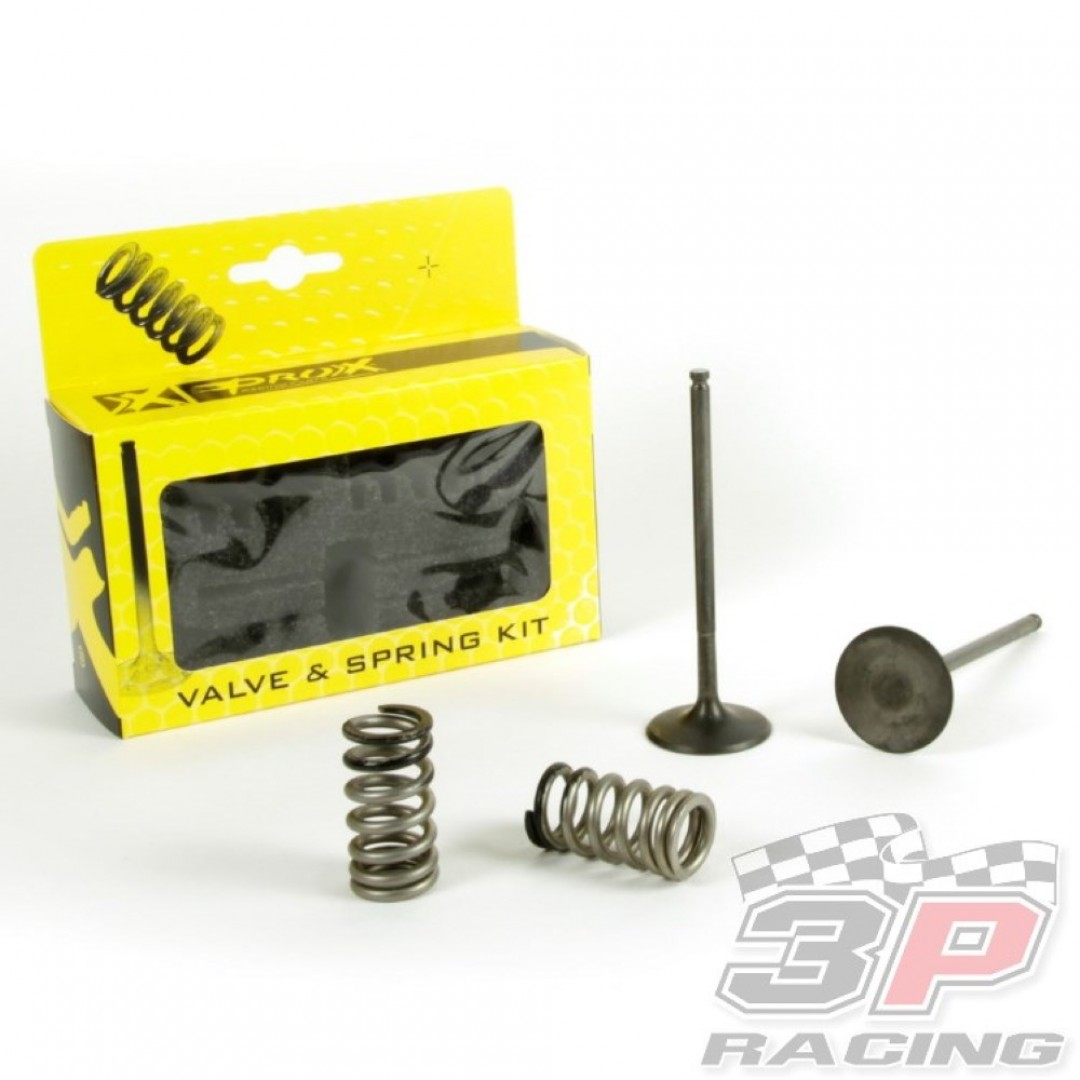 ProX steel intake valves & springs set 28.SIS6334-2 KTM EXC-F 250 2014-2015, Husqvarna FE 250 2014