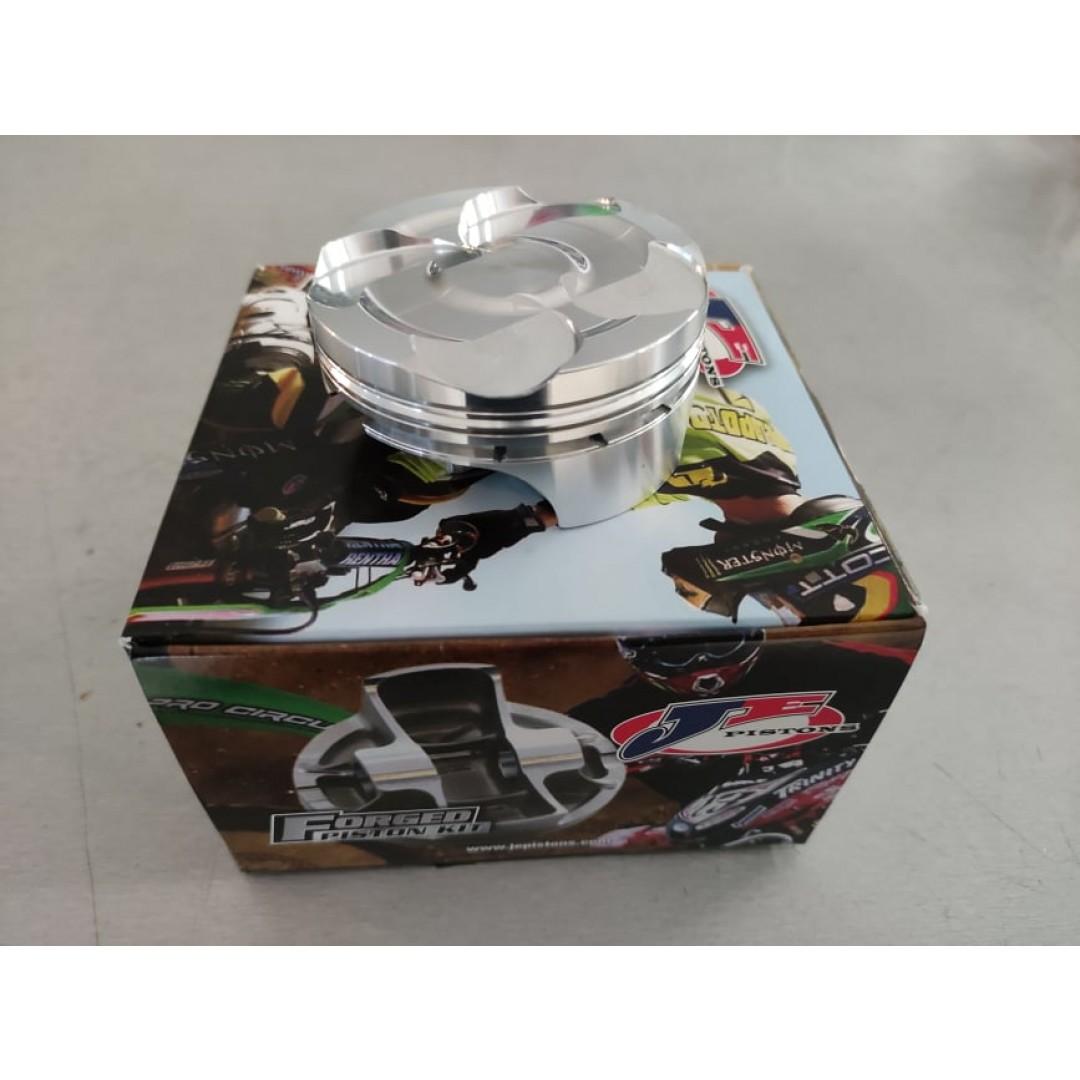 JE forged BigBore +2mm piston kit 102mm High-Comp 9.0:1 292331 Honda XR 650L, XR 650C, FMX 650, SLR 650, NX 650 Dominator