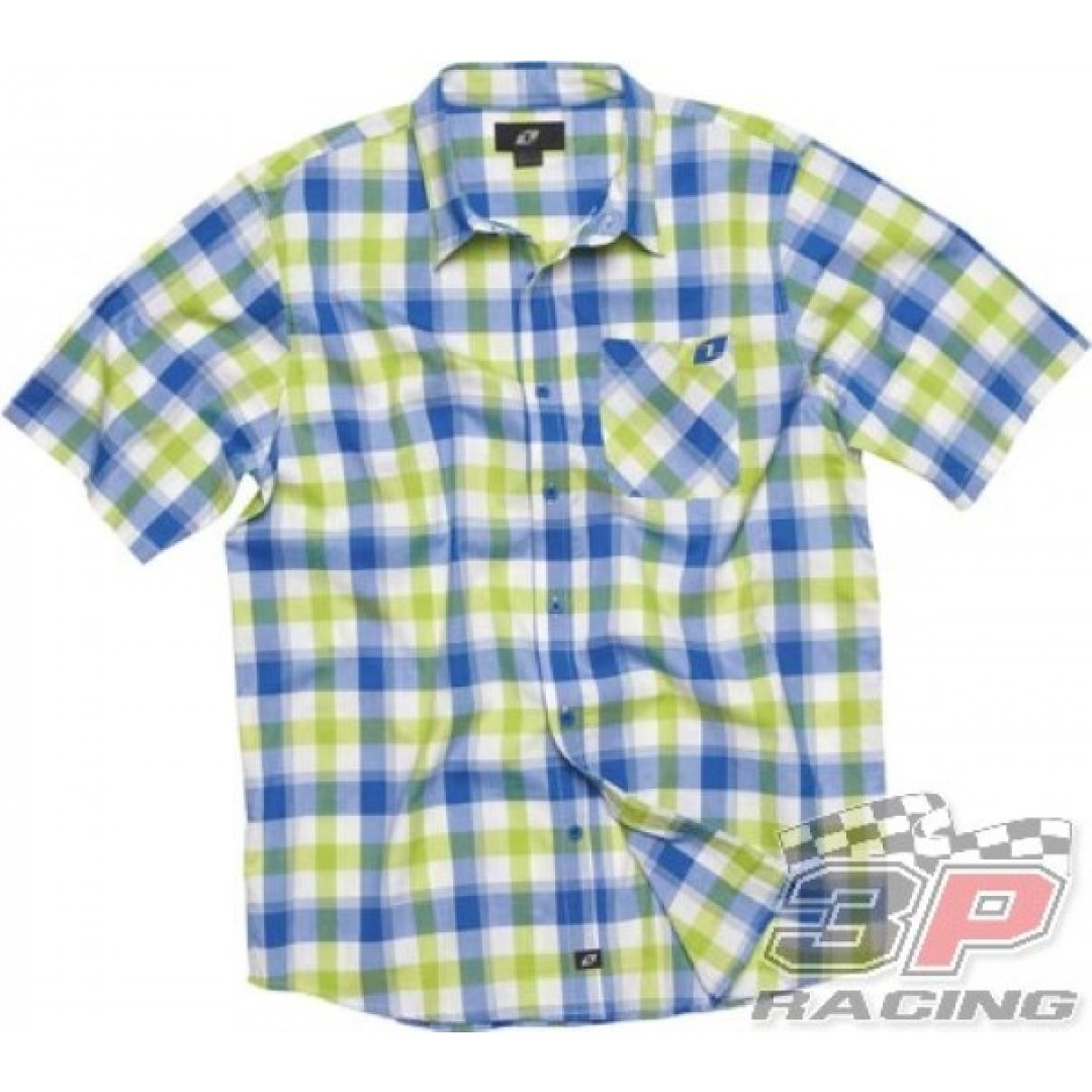 ONE Industries Johnson Valley Shirt Blue 34027-185